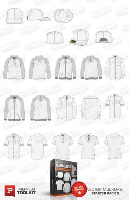 Ultimate Vector Garment Mockup Kit