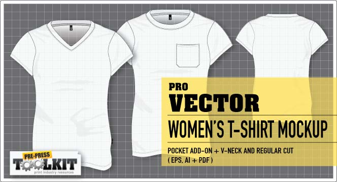 best womens vector tshirt mockup template