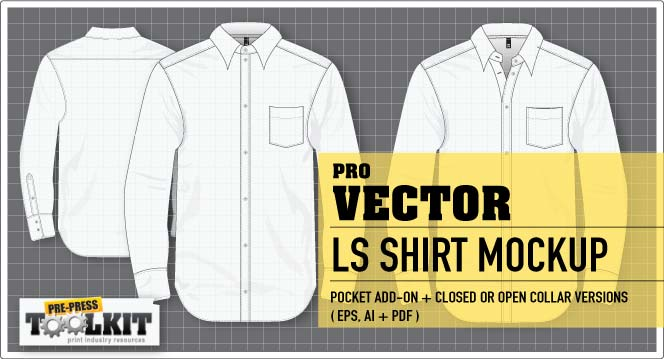 best vector long sleeve shirt mockup template