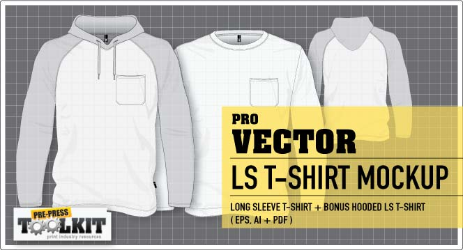 The Ultimate Vector Garment Mockup Kit Is Here - Pocket t shirt template