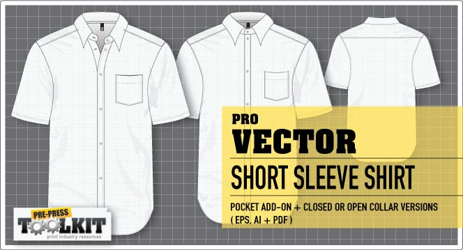 premium vector short sleeve shirt mockup