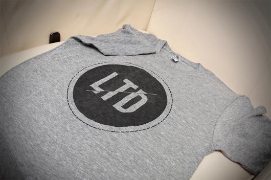 LTD Logo T-shirt graphic Inspiration