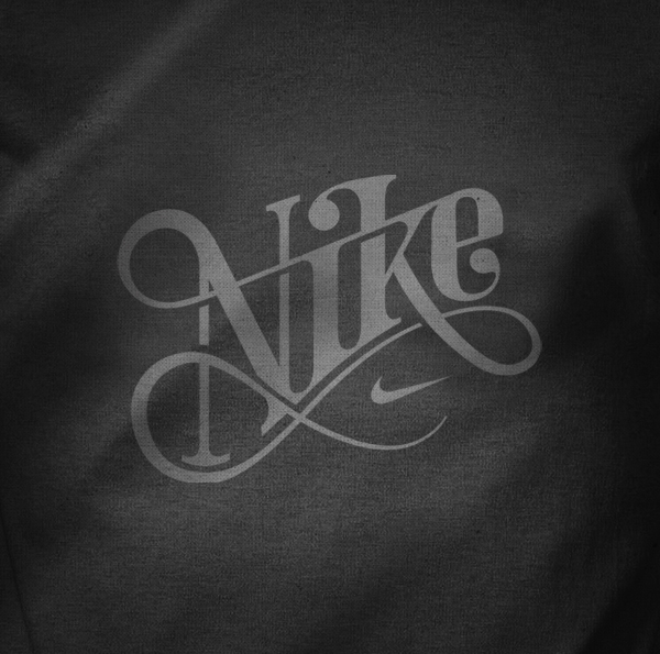 Nike T-Shirt Typography Graphic Inspiration