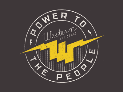 Power To The People T-shirt Inspiration