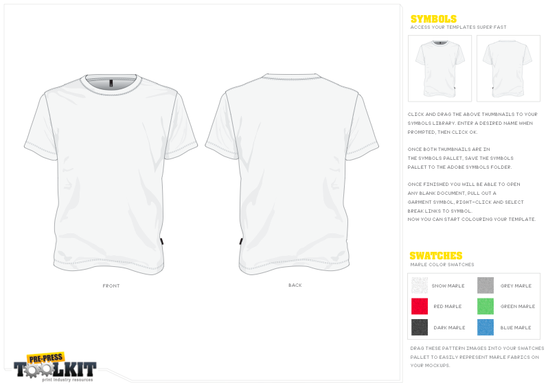 free vector t shirt mock up sample