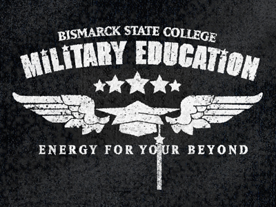 military education t-shirt graphic