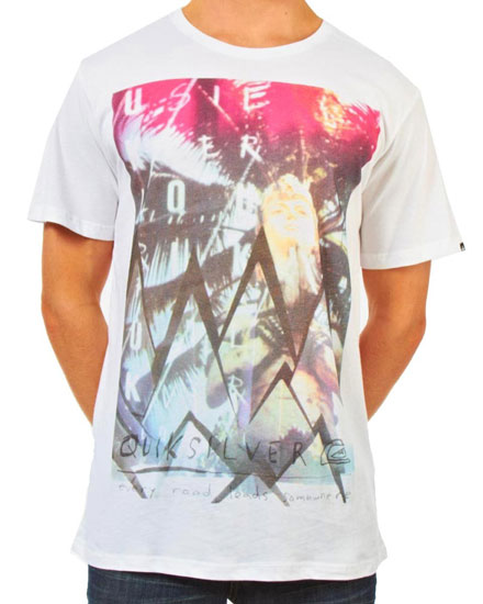 Quiksilver Somewhere_T-shirt design inspiration