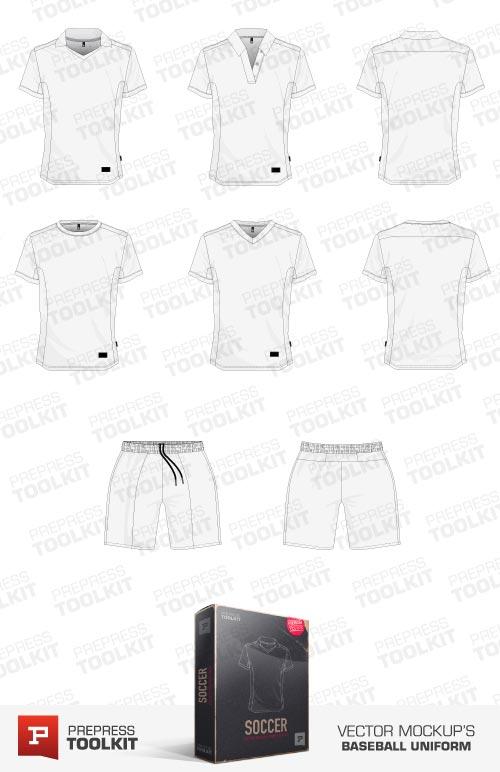 football uniform vector template. Black Bedroom Furniture Sets. Home Design Ideas