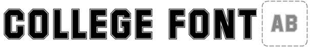 College Font 18 Superstar