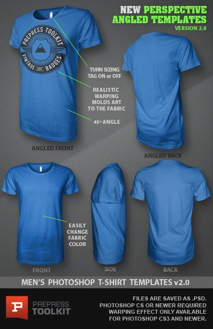 Ghosted TShirt Design Template PSD Mockup Version - T shirt design photoshop template